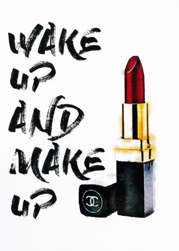 Amanda Greenwood - Wakeup Makeup Lipstick Red