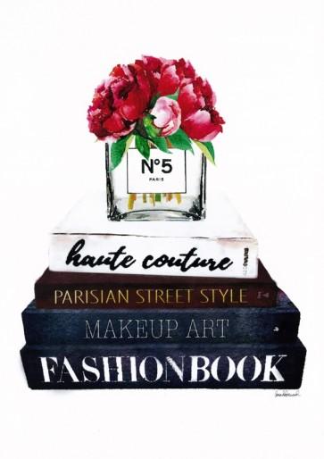 Amanda Greenwood - Bookstack Peony Vase