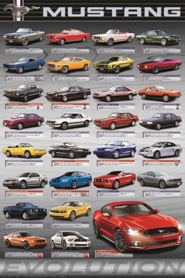 Ford - Mustang - Evolution