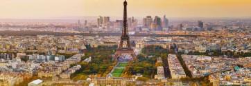 Bernardo Frencco - Arerial View Of Paris