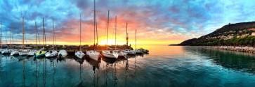 Stuart Barnes - Magical Sunset at Harbor