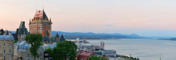 Maurice Tremblay - Panaoramic View of Quebec City