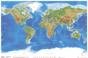 World Map - Planetary Visions