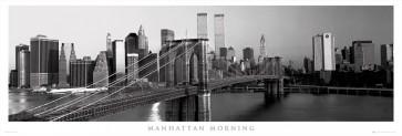 New York City - Brooklyn Bridge - Manhattan Morning