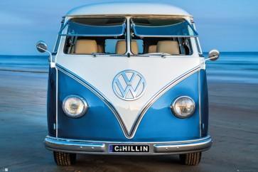 VW - Blue Kombi