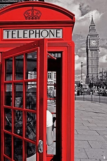 London - Phone Box