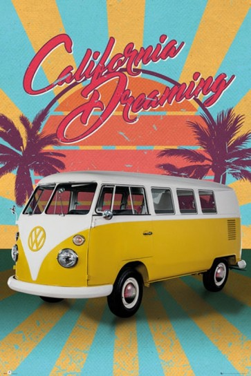 VW Camper - California Dreaming