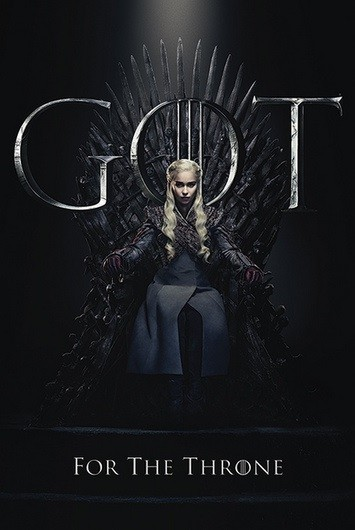 Game of Thrones - Daenerys Targaryan The Mother of Dragons for The Throne