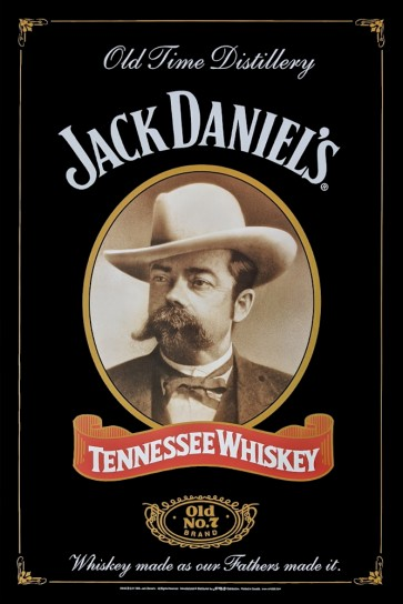 Jack Daniel's - Old Time Distillery - Tennesse Whiskey - Old No. 7 - Made as our Fathers made it.