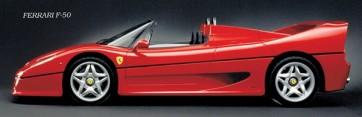 Ferrari - F-50 Red