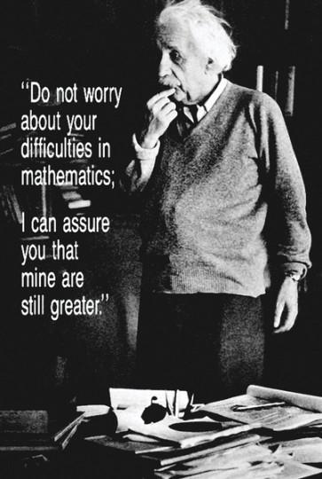 Albert Einstein - Maths