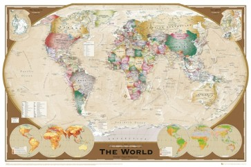 World - Map - Tripel