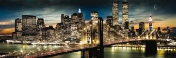 New York - Manhattan Night And Moon Midi