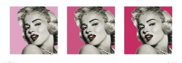 Marilyn Monroe - Triptych