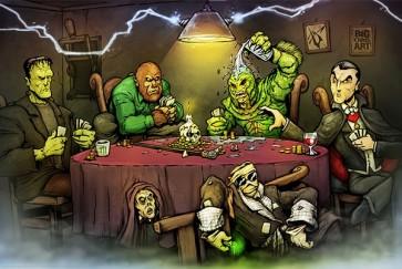 Big Chris - Monsters Playing Poker