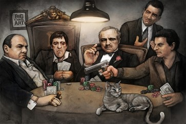 Big Chris - Gangsters Playing Poker
