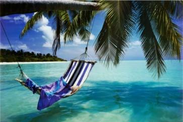 Hamak on beach