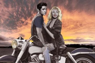 Elvis & Marilyn Ridin'