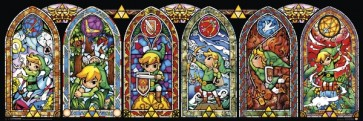 The Legend of Zelda - Link Stained Glass