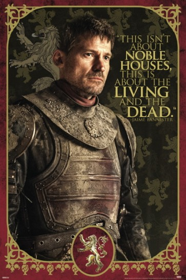 Game Of Thrones - Jaime Noble Houses