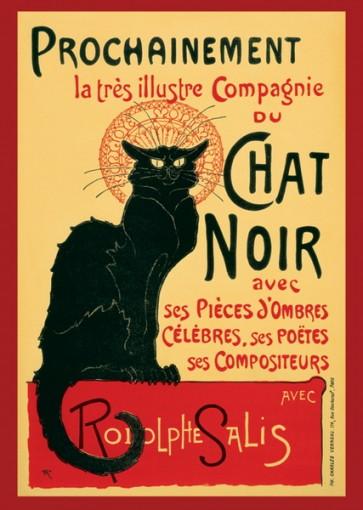 Théophile Alexandre Steinlen - Le Chat Noir