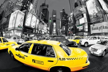New York - Taxis -Broadway