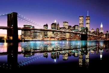 New York - Brooklyn Bridge - (Colour)