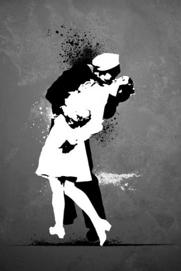 Banksy - Warzone Kiss