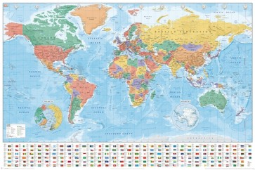 World-Map (Flag-and-Facts)