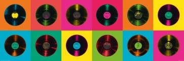 Pop Art Retro Music