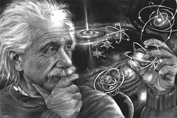 James Danger Harvey - Albert Einstein Trippy