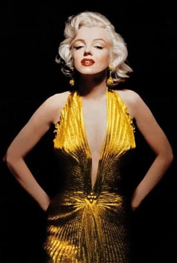 Marilyn-Gold-Dress