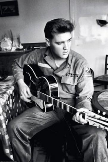 Elvis - War Guitar