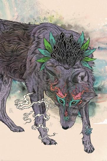 Mat Miller - Journeying Spirit Wolf