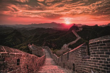 Great Wall of China - Sunset