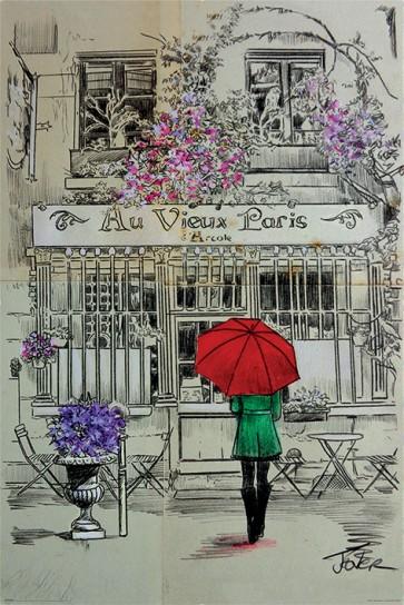 Loui Jover - Au Vieux Paris