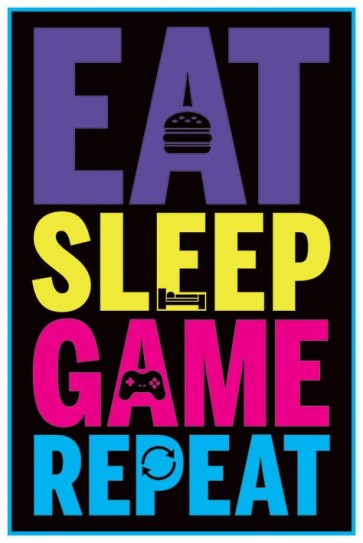Fortnite - Eat Sleep Game Repeat