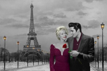 Chris Consani - Marylin and Elvis - Paris Love