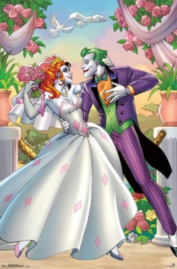 DC Comics - Joker And Harley Quinn Romance - Wedding