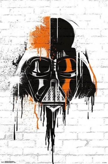 Star Wars - Darth Vador Graffiti