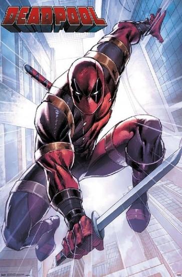 Marvel Comics - Deadpool - Attack