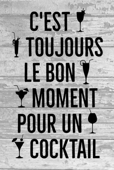 Cocktail - toujours un bon moment