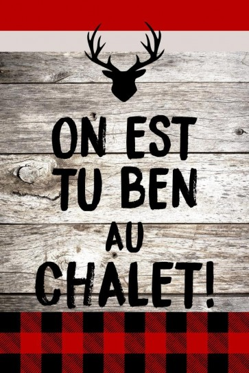 R&B - Chalet - On est tu ben