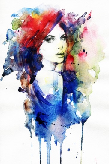 Colorfull Ladie