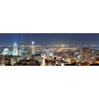 Montreal - Panorama At Dusk I