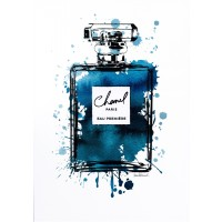 Amanda Greenwood - Black Inky Perfume in Teal