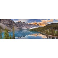 Delal Lambert - Moraine Lake Sunrise, Banff National Park