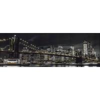 Assaf Frank - Brooklyn Bridge At Dusk