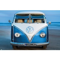 VW - Blue Kombi