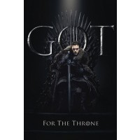 Game of Thrones - Jon The King of The North for The Throne